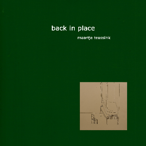 Back in Place - 2011 - Album (CD)